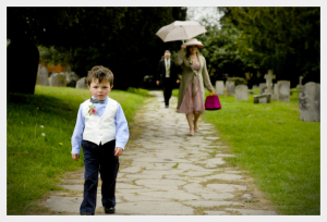 Page boy waistcoat and bow-tie by Felicity Westmacott