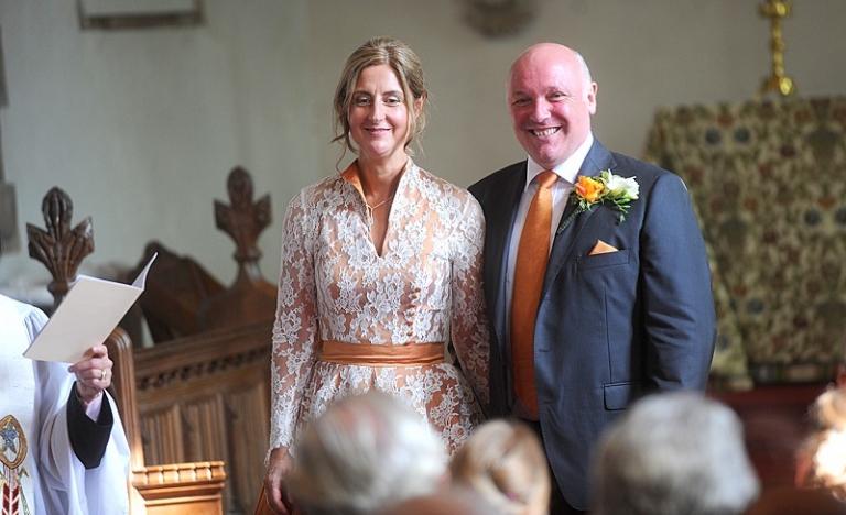candler 8 wedding dress with collar v-neck and sash vintage style mature older bride