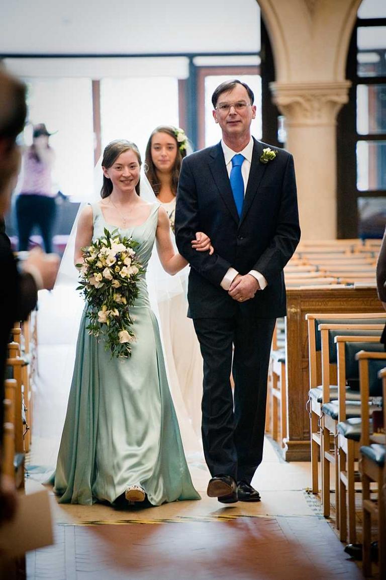 blue wedding dress silk satin bespoke made to measure