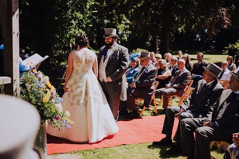 full skirt wedding dress no train floor length