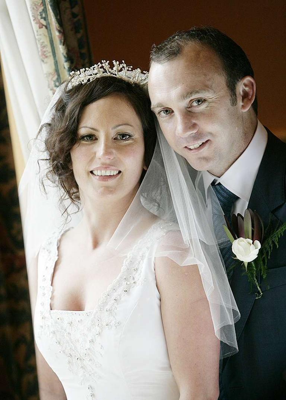 wedding portrait square vneck boned bodice dress