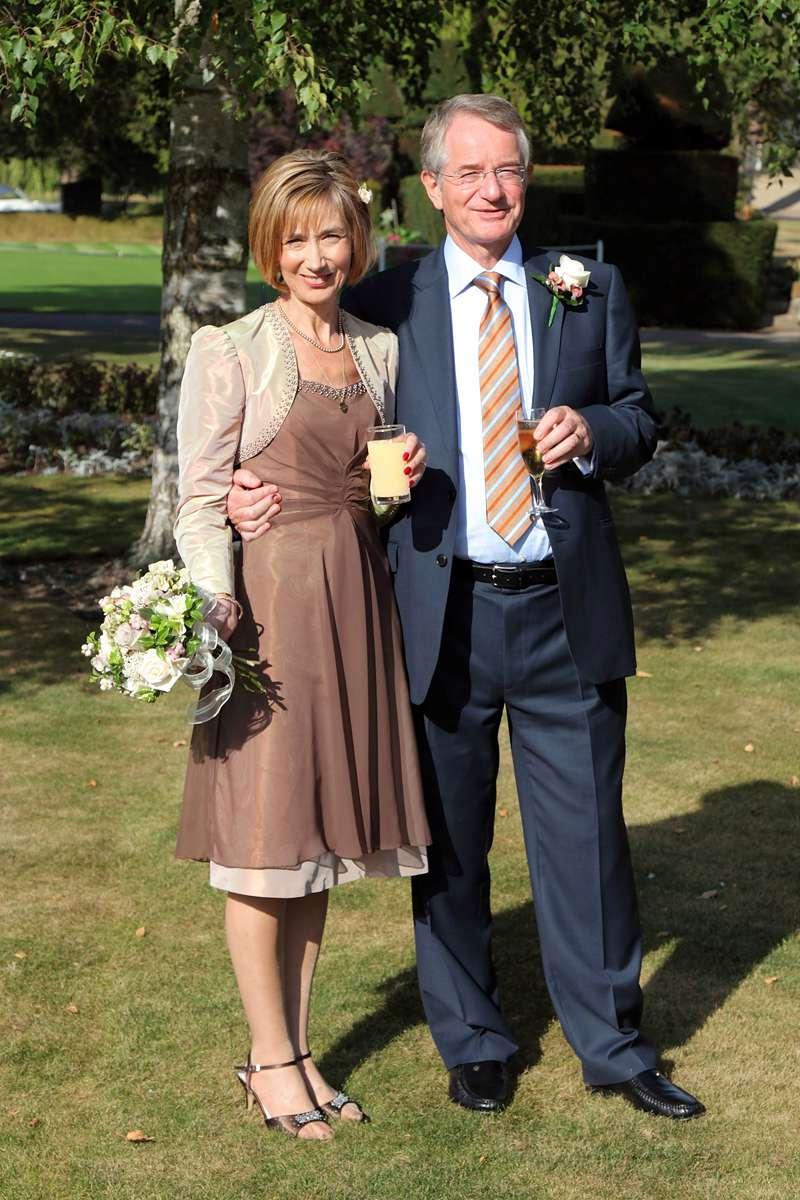 knee length informal wedding dress with shrug made to measure