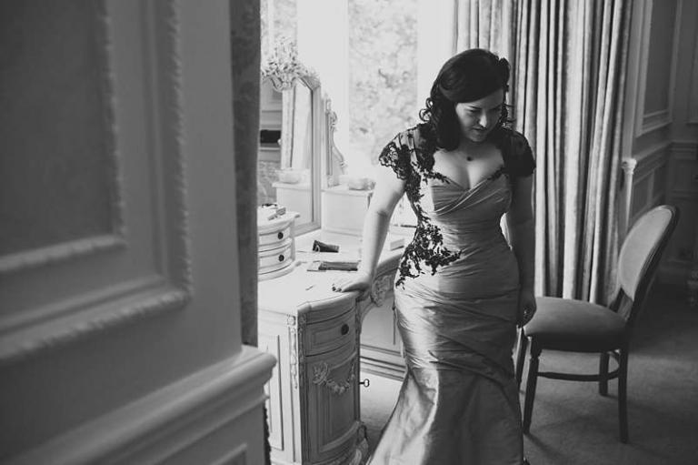 plussize curvey bride custom wedding dress