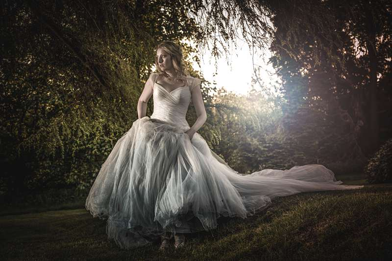 fairytale wedding dress made to order